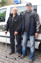 Hauptfeldwebel Stefan D. und Oberfeldwebel Toni K. haben sich ihre persönlichen Ziele hoch gesteckt. (Quelle: Klaus D. Treude)