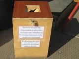 Amnesty Box in Termez / Usbekistan