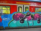 Graffiti S-Bahn