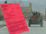 Haftbefehl gegen einen Soldaten im Auslandseinsatz