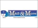 """Feldzeitung der Bundeswehr für den Balkan """"Maz & More"""""""