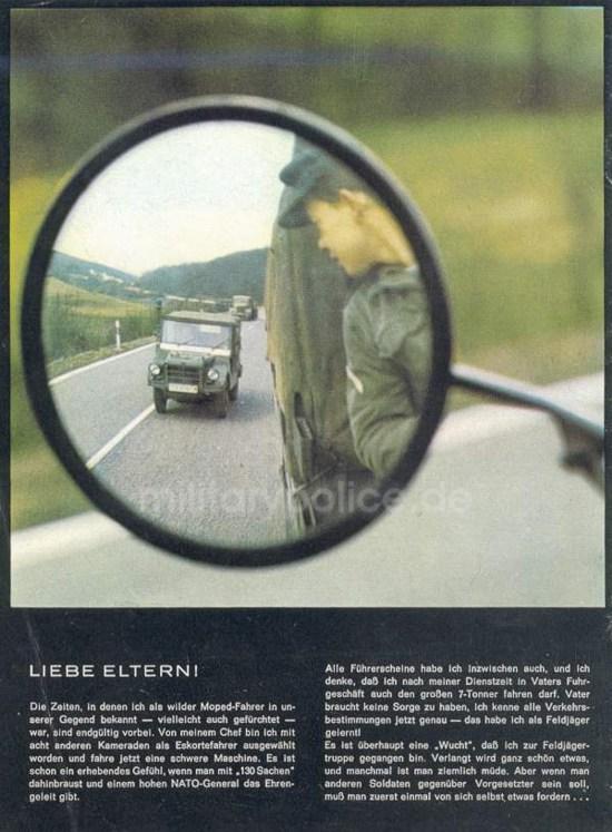 """Heftreihe """"Unser Heer"""", Heft Nr. 14 - Feldjäger - von 1962, Seite 10"""