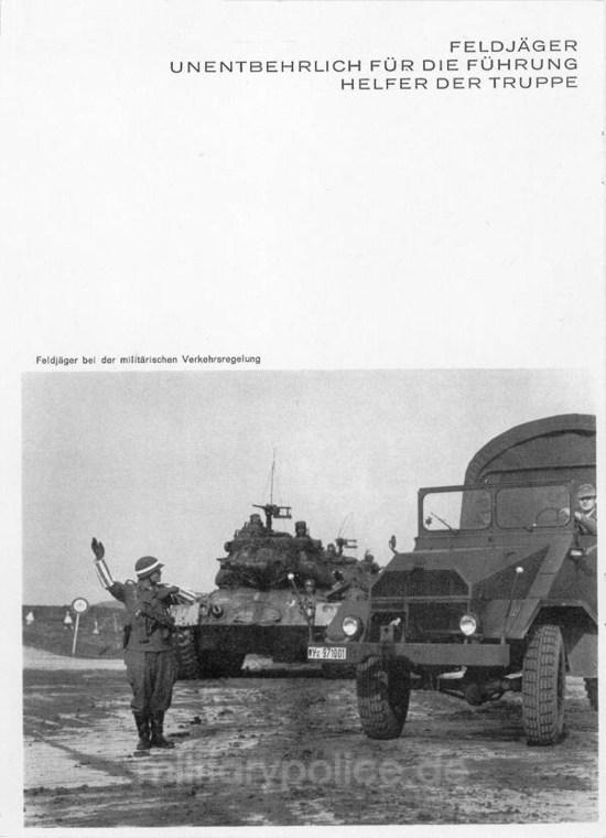 """Heftreihe """"Unser Heer"""", Heft Nr. 14 - Feldjäger - von 1962, Seite 2"""