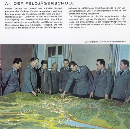 """Heftreihe """"Unser Heer"""", Heft Nr. 14 - Feldjäger - von 1962, Seite 6"""