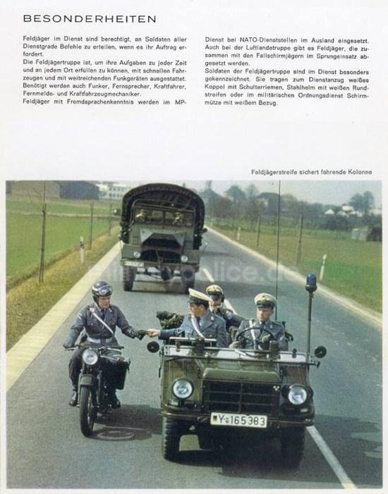 """Heftreihe """"Unser Heer"""", Heft Nr. 14 - Feldjäger - von 1962, Seite 7"""