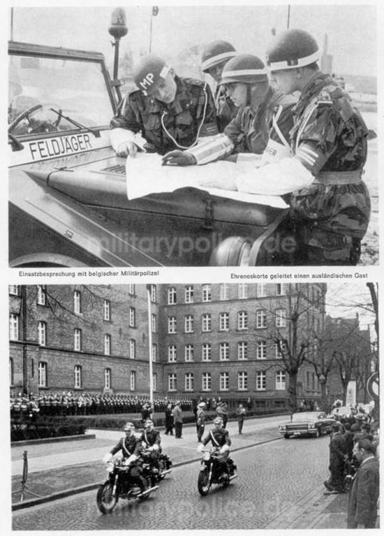 """Heftreihe """"Unser Heer"""", Heft Nr. 14 - Feldjäger - von 1962, Seite 8"""