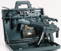 Schallgedämpft als Modell SD oder versteckt im Koffer: Heckler & Kochs MP 5